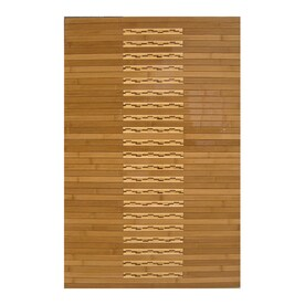 Anji Mountain 32 In L X 20 In W Bamboo Bath Mat