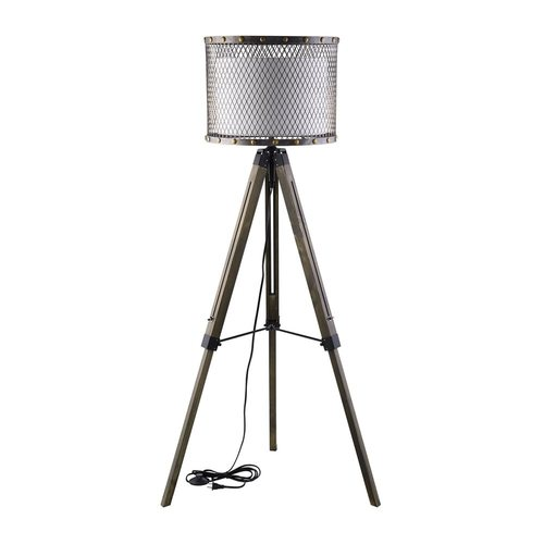 Modway Fortune 56 5 In Antique Silver Foot Switch Tripod