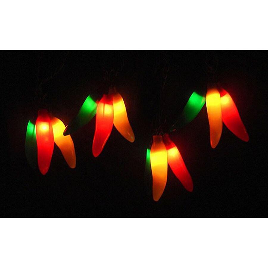 Northlight 9.83-ft 36-Light White Tinted Plastic-Shade Plug-in Fruit String Lights