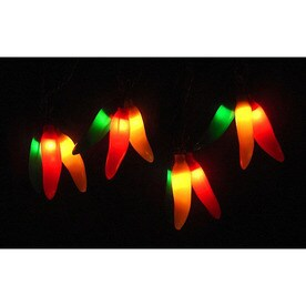 Northlight 9 83 Ft 36 Light White Tinted Plastic Shade Plug In Fruit