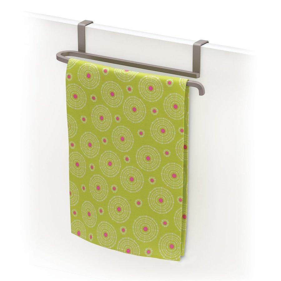 Lynk 10.13-in x 2.4-in H Metal Cabinet Door Towel Bar