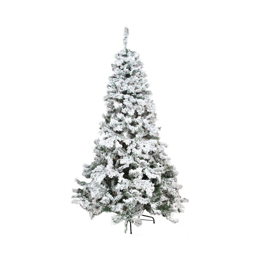 Northlight 4-ft 6-in 270-Count Flocked Artificial Christmas Tree