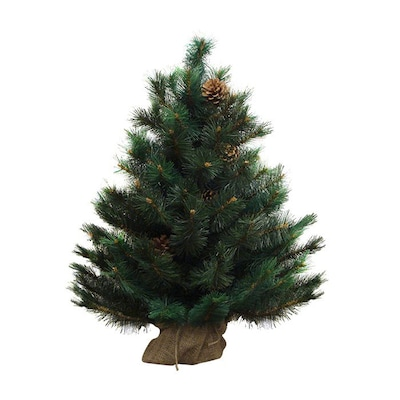 Northlight 3-ft Oregon Pine Artificial Christmas Tree at ...