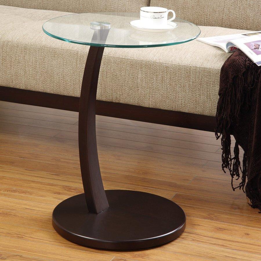 Coaster Fine Furniture Cappuccino Round End Table