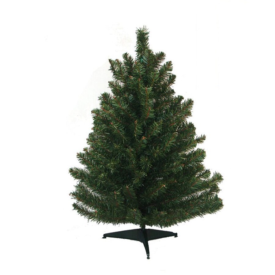 Northlight 1-ft 6-in Mixed Needle Artificial Christmas Tree