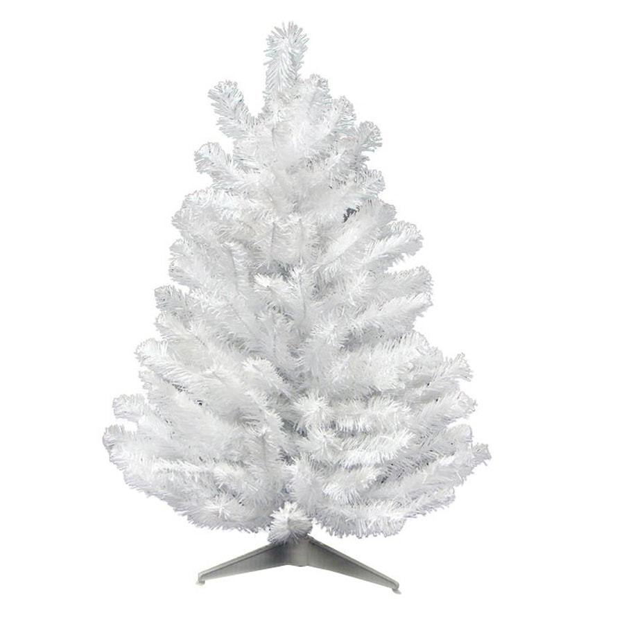 Northlight 1-ft 6-in Snow White Artificial Christmas Tree