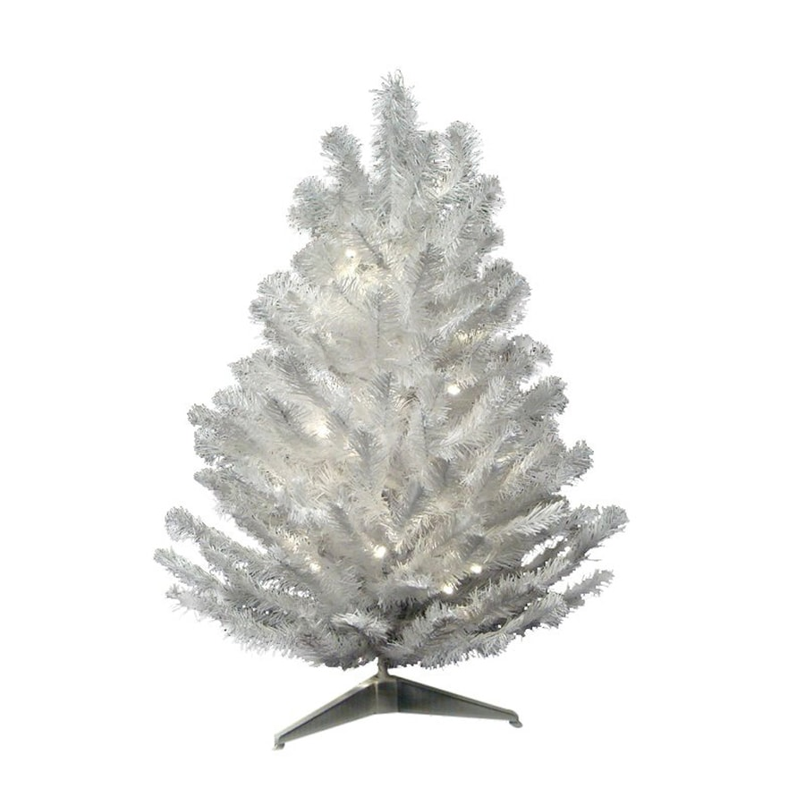 Northlight 3-ft Pre-lit Artificial Christmas Tree with 100 ...