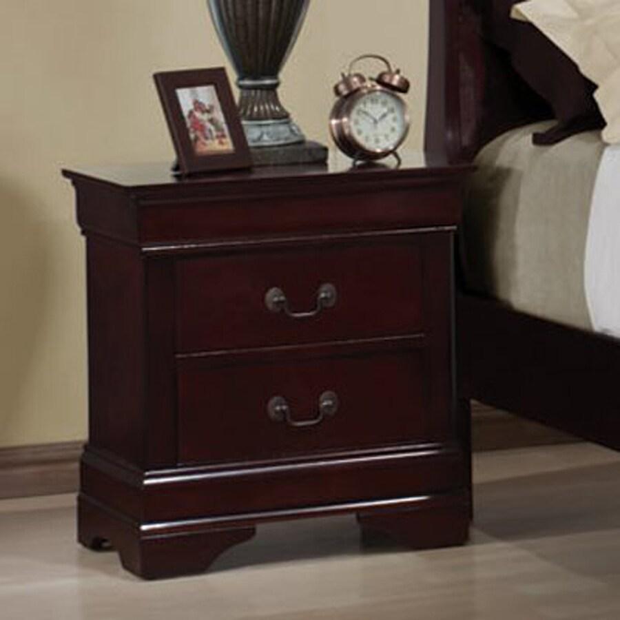 Coaster Fine Furniture Louis Philippe Cherry Nightstand