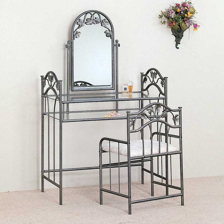 Coaster Fine Furniture Dark Silver Makeup Vanity