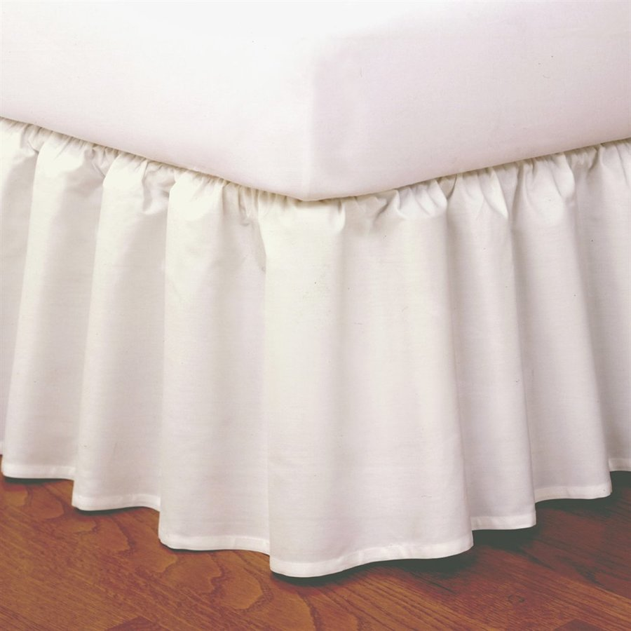 Levinsohn Textile Company Ivory California King 14-in Bed Skirt