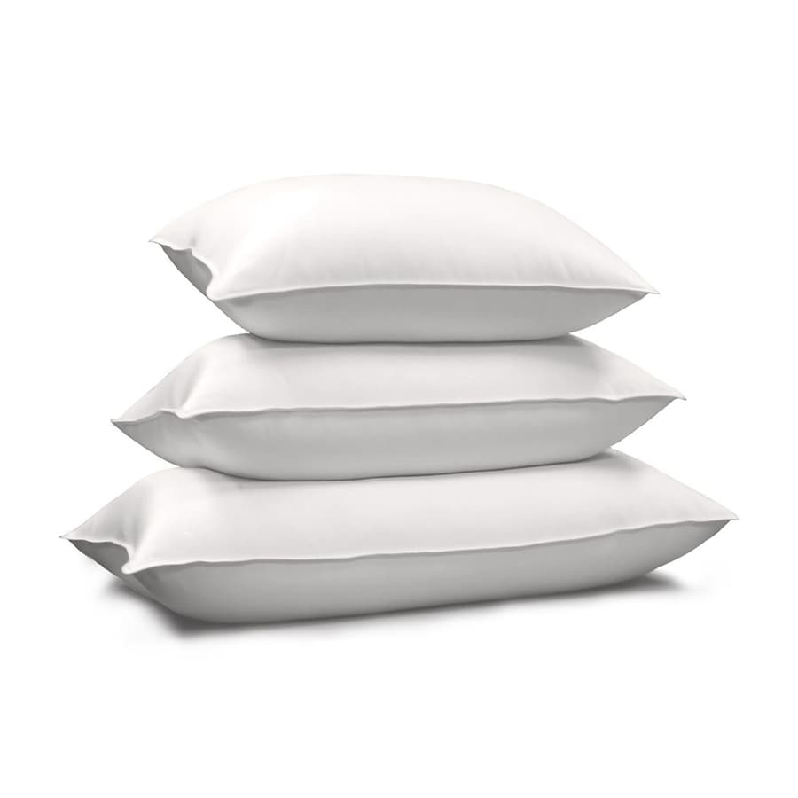 Blue Ridge Home Fashions Standard Natural Down Bed Pillow At Lowes Com