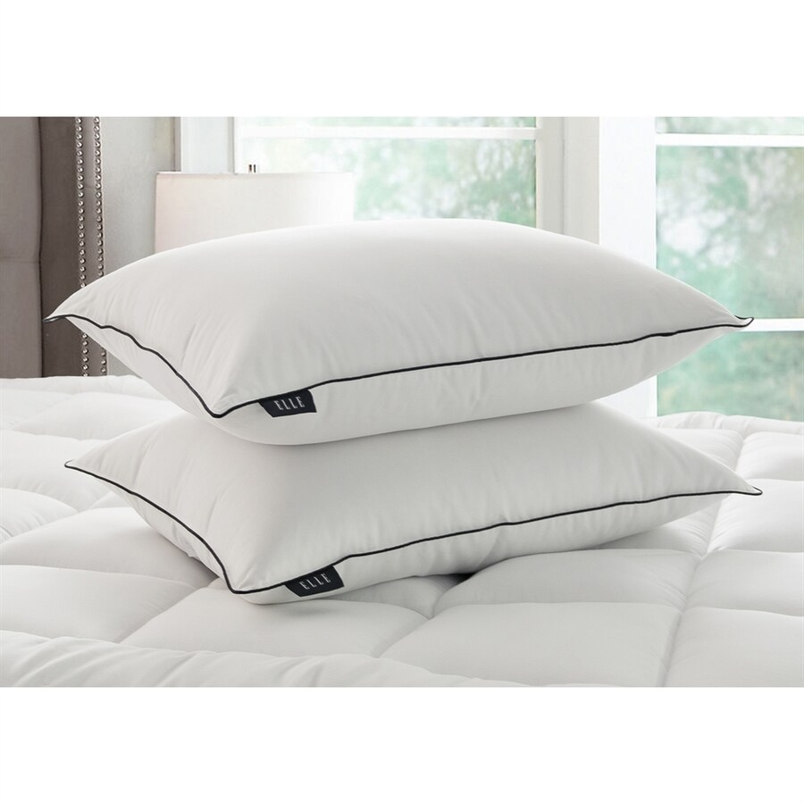 Blue Ridge Home Fashions Jumbo Natural Down Bed Pillow At Lowes Com