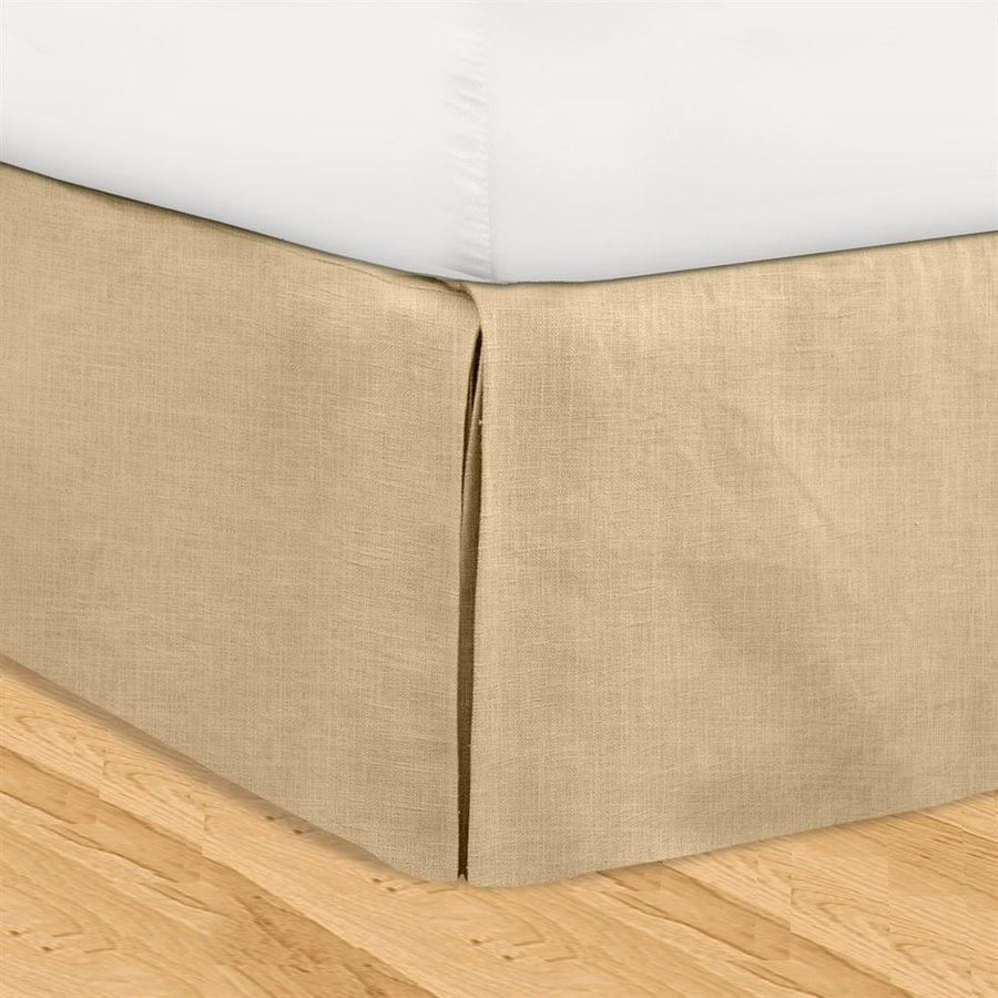 Veratex Huys Khaki King 16-in Bed Skirt