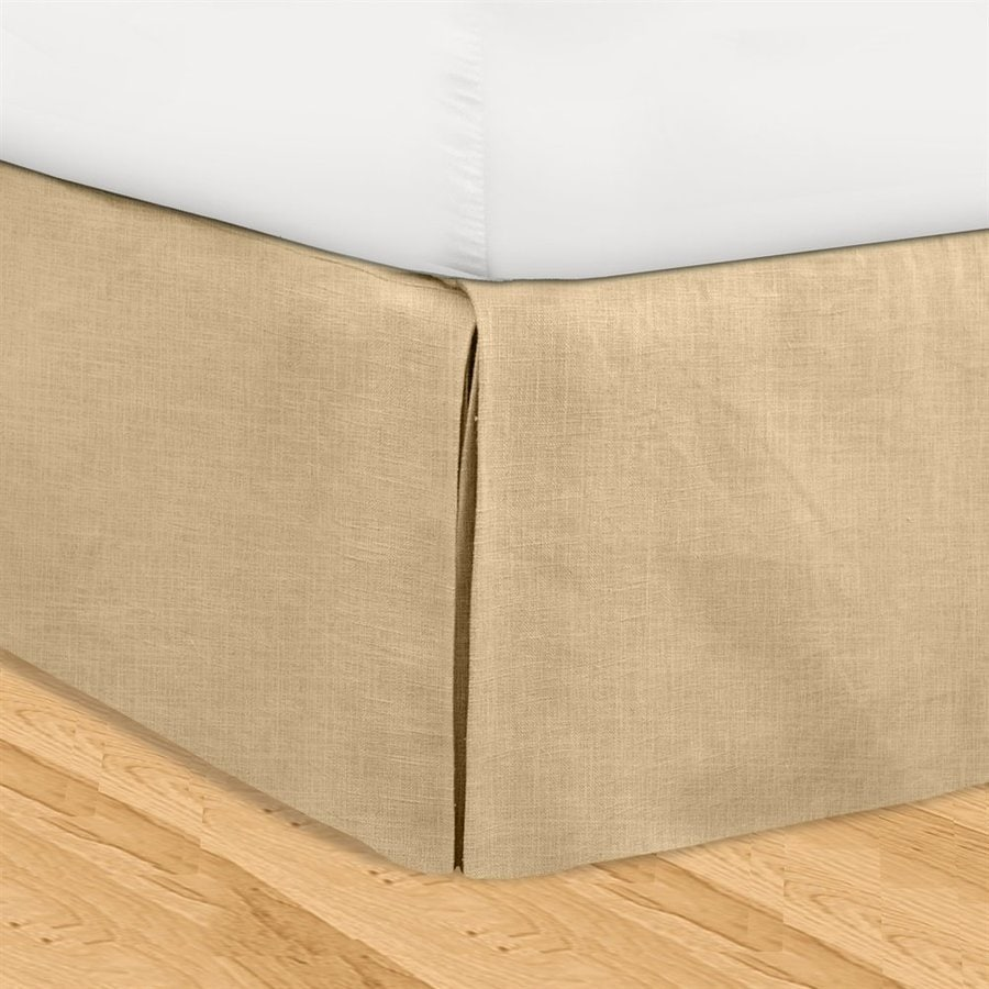Veratex Huys Khaki Queen 16-in Bed Skirt