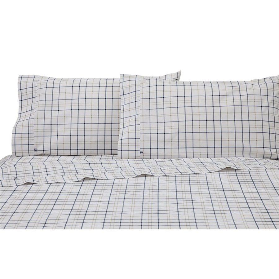 IZOD by WestPoint Home Windowpane Plaid King Cotton Blend Sheet Set