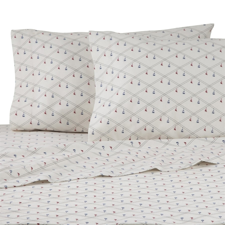 IZOD by WestPoint Home Ski Lift Diamond King Cotton Sheet Set