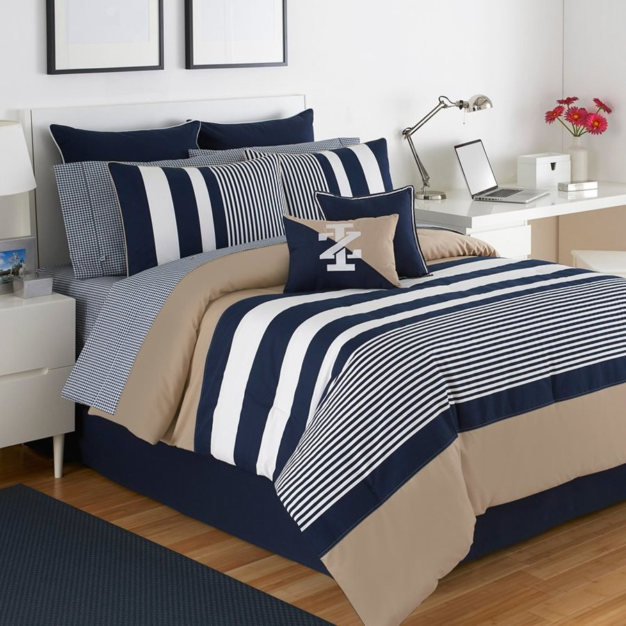 IZOD by WestPoint Home Classic Stripe Twin Extra Long Polyester Comforter
