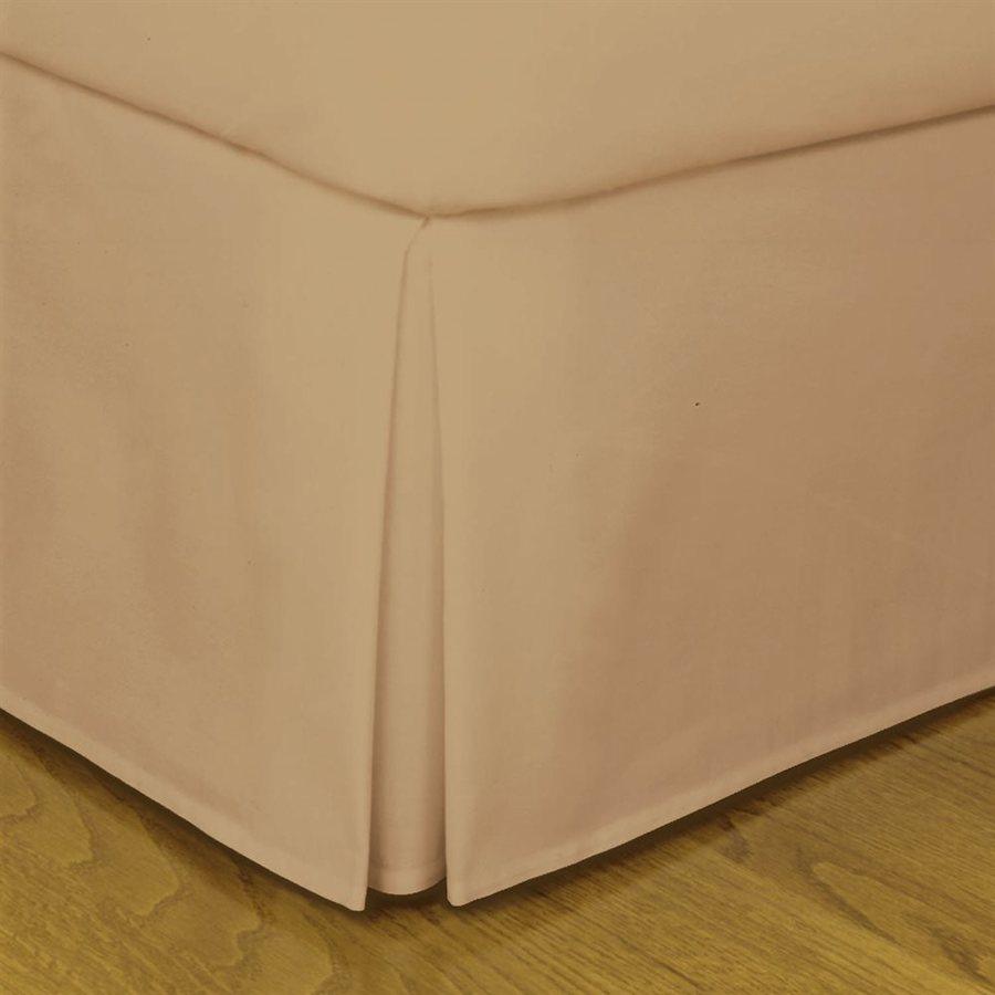 Levinsohn Textile Company Fresh Ideas Mocha Full 14-in Bed Skirt