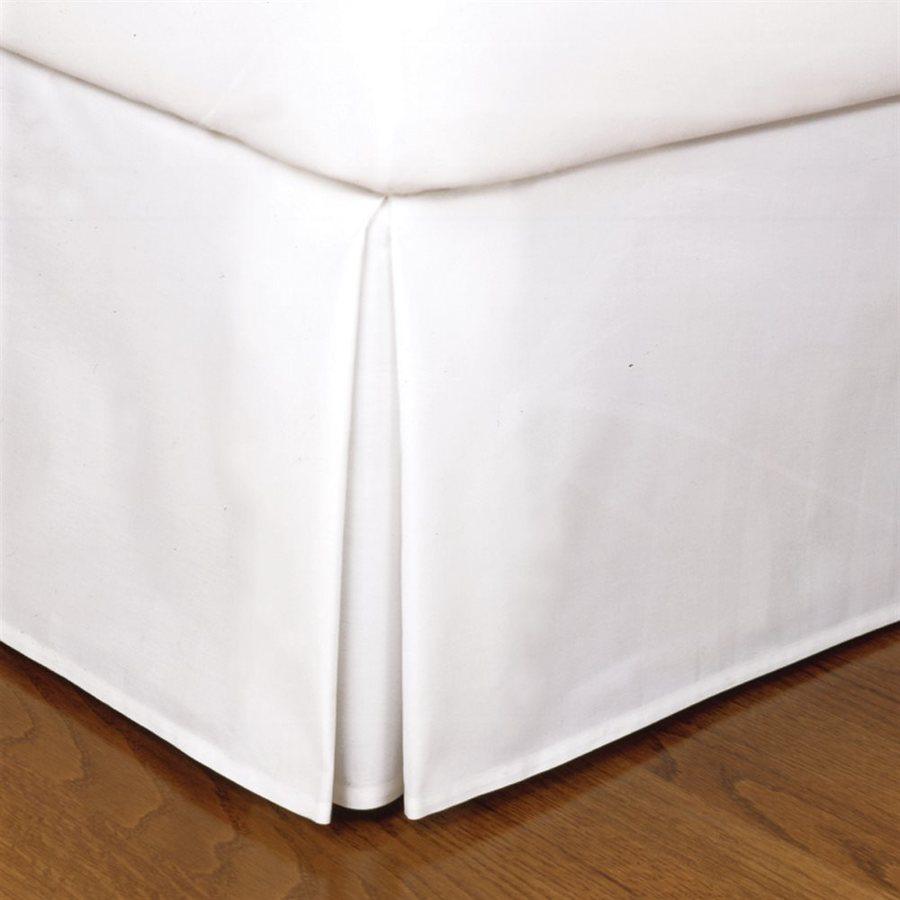 Levinsohn Textile Company Fresh Ideas White King 14-in Bed Skirt