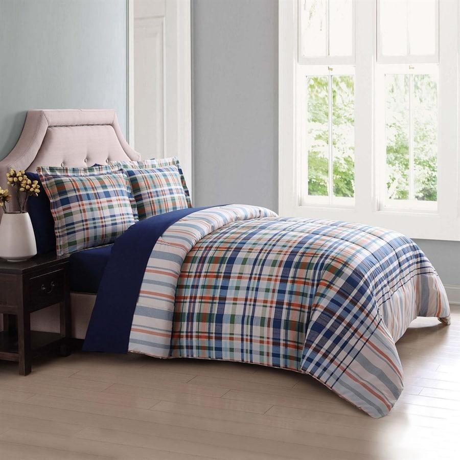 PEM America Outlet London Fog Blue Queen Polyester Comforter