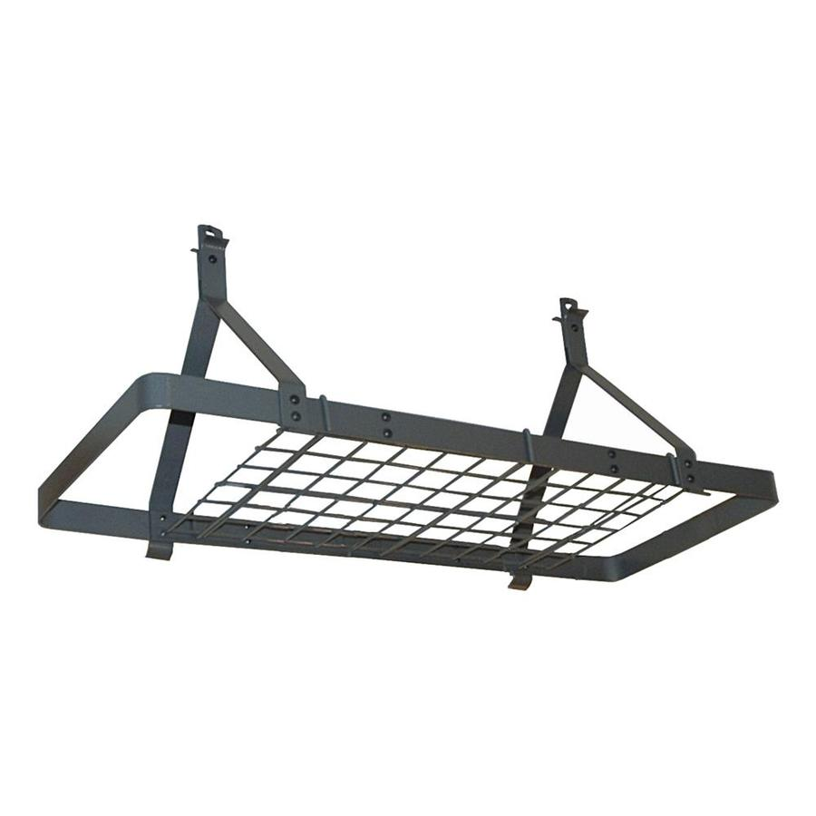 Enclume 14-in x 24-in Gray Rectangle Pot Rack