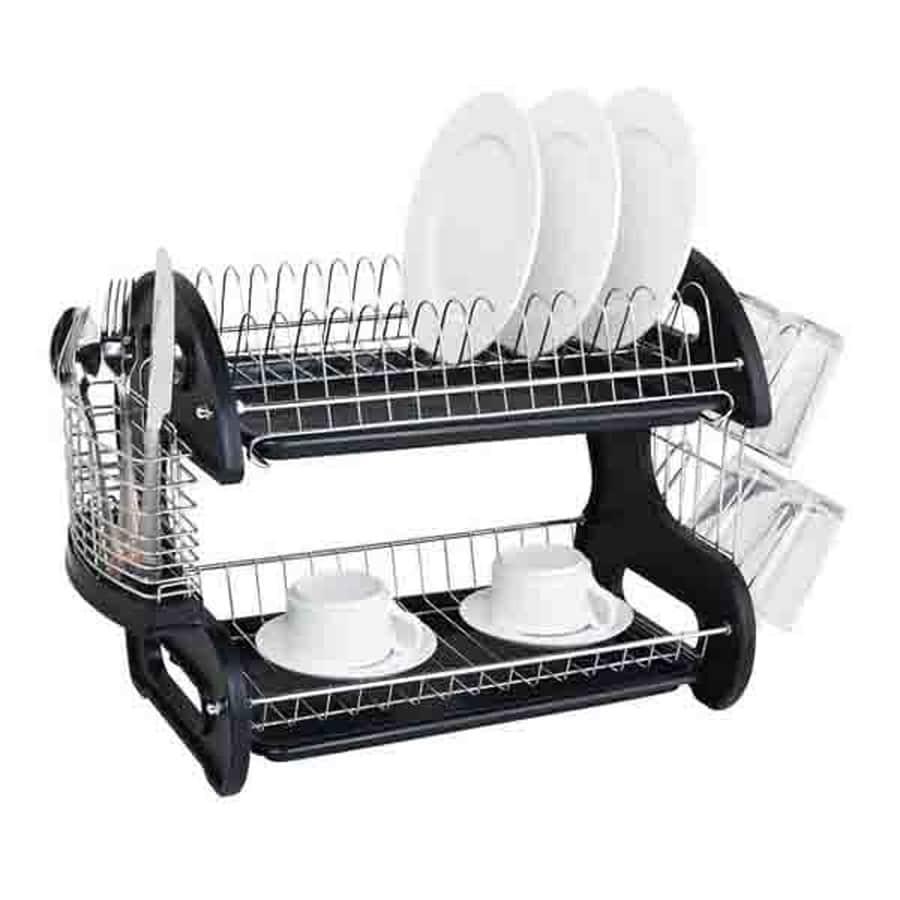 Home Basics 11 In W X 22 In L X 13 5 In H Plastic Dish
