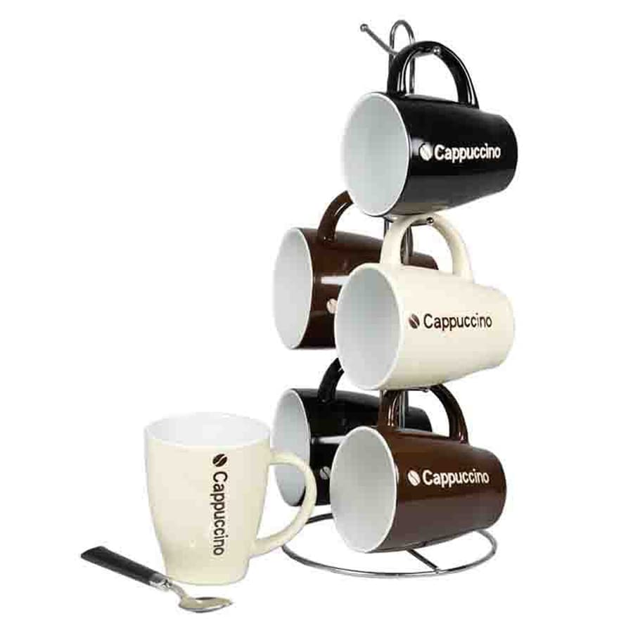 Home Basics 7-Pack Single-Serve Mug Stand