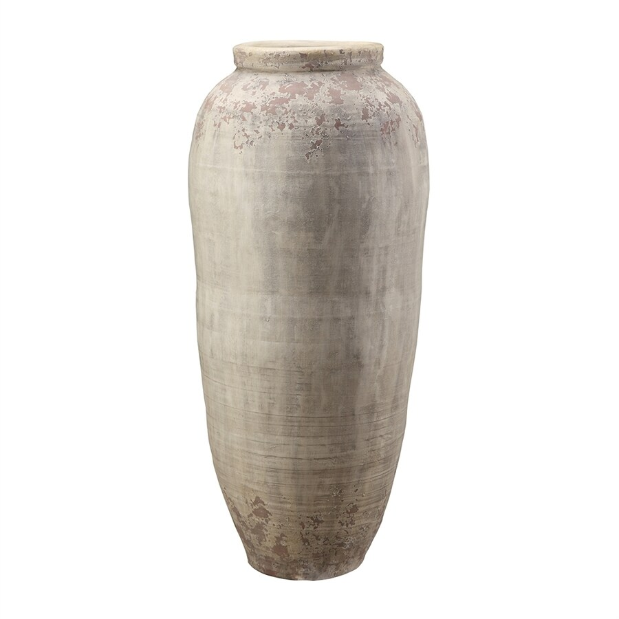 Shop moes home collection terracotta vase tabletop decoration at moes home collection terracotta vase tabletop decoration reviewsmspy