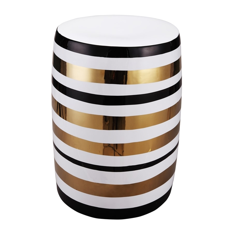Shop Moe S Home Collection Pharoah 17 5 In Gold Black