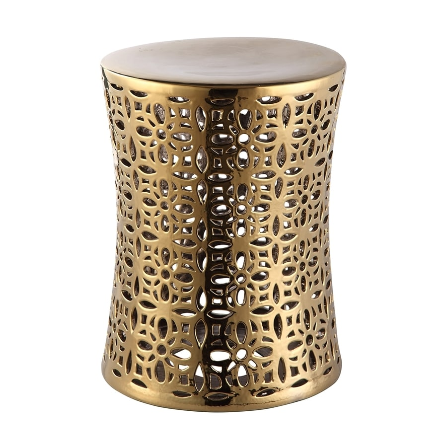 Shop Moe S Home Collection Ionian 18 In Gold Ceramic