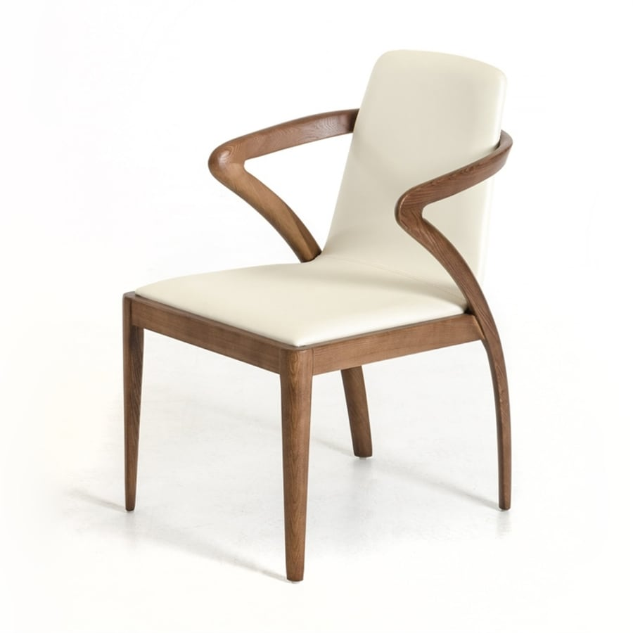VIG Furniture Modrest Transitional Cream Arm Chair