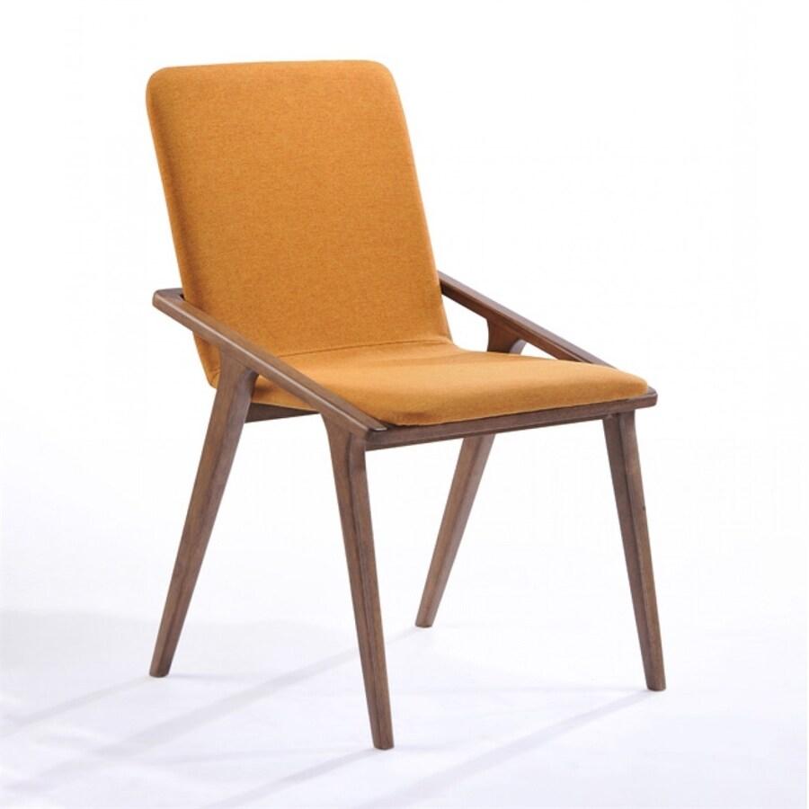 VIG Furniture Modrest Transitional Orange Side Chair
