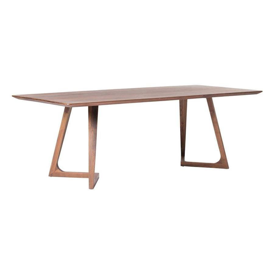Moe's Home Collection Godenza Walnut Wood Dining Table