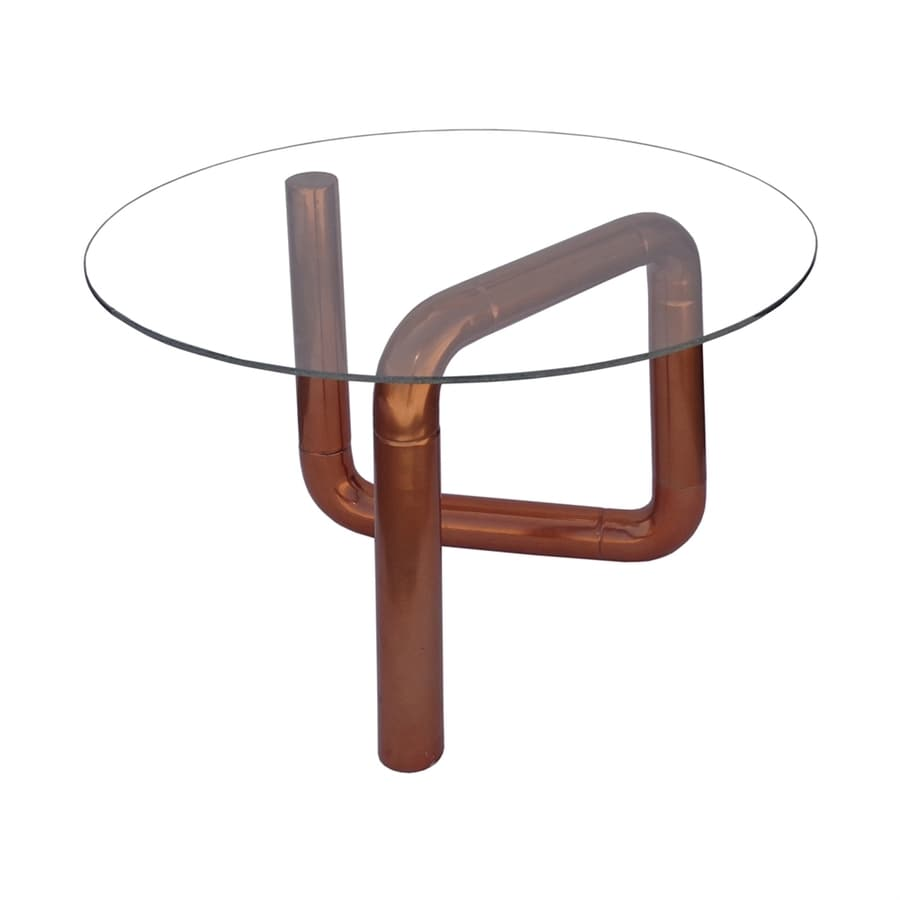 Moe's Home Collection Boa Rose Gold End Table