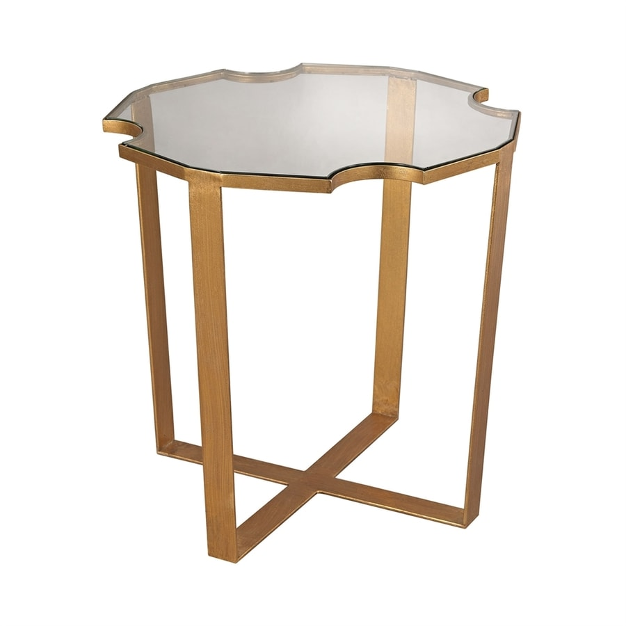 Dimond Home Gold Leaf End Table