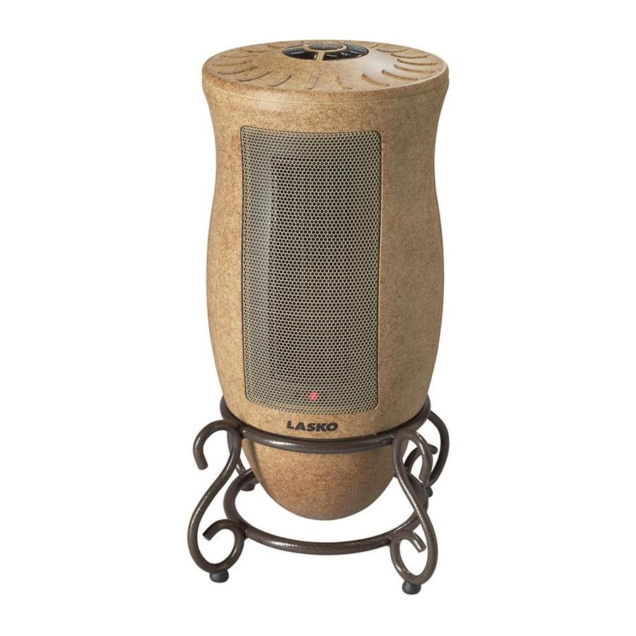 Lasko Ceramic Tower Electric Space Heater with Thermostat Energy Saving Setting