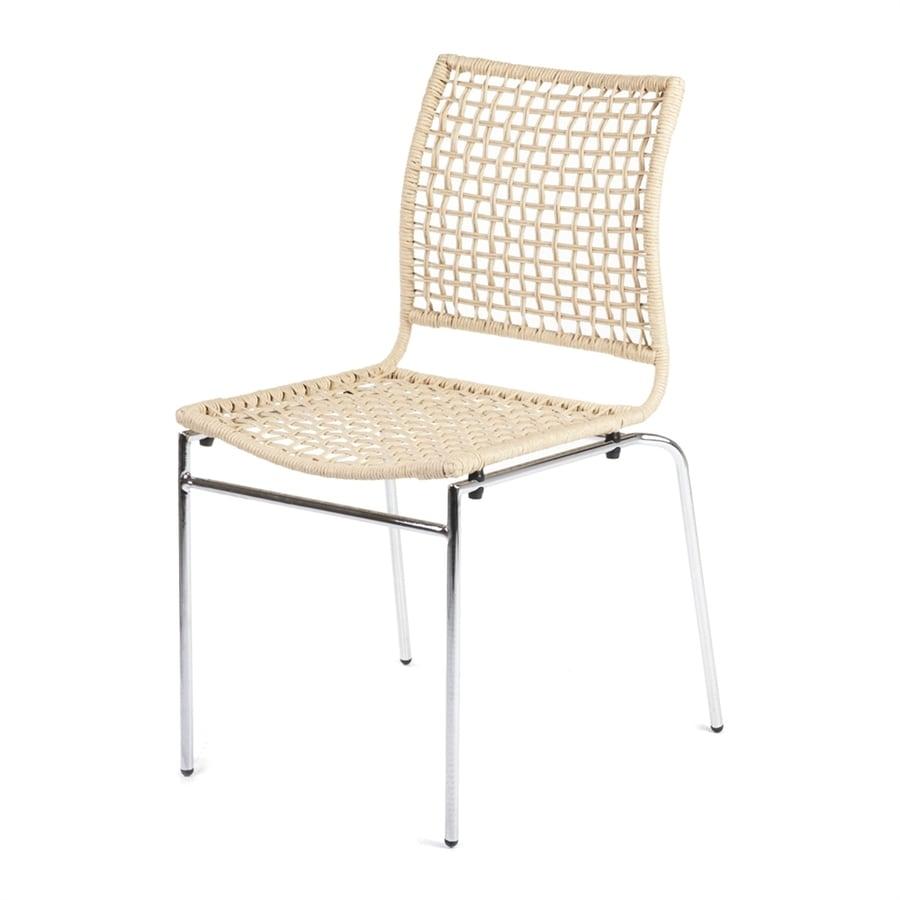 Stilnovo USA Casja Contemporary Beige Side Chair