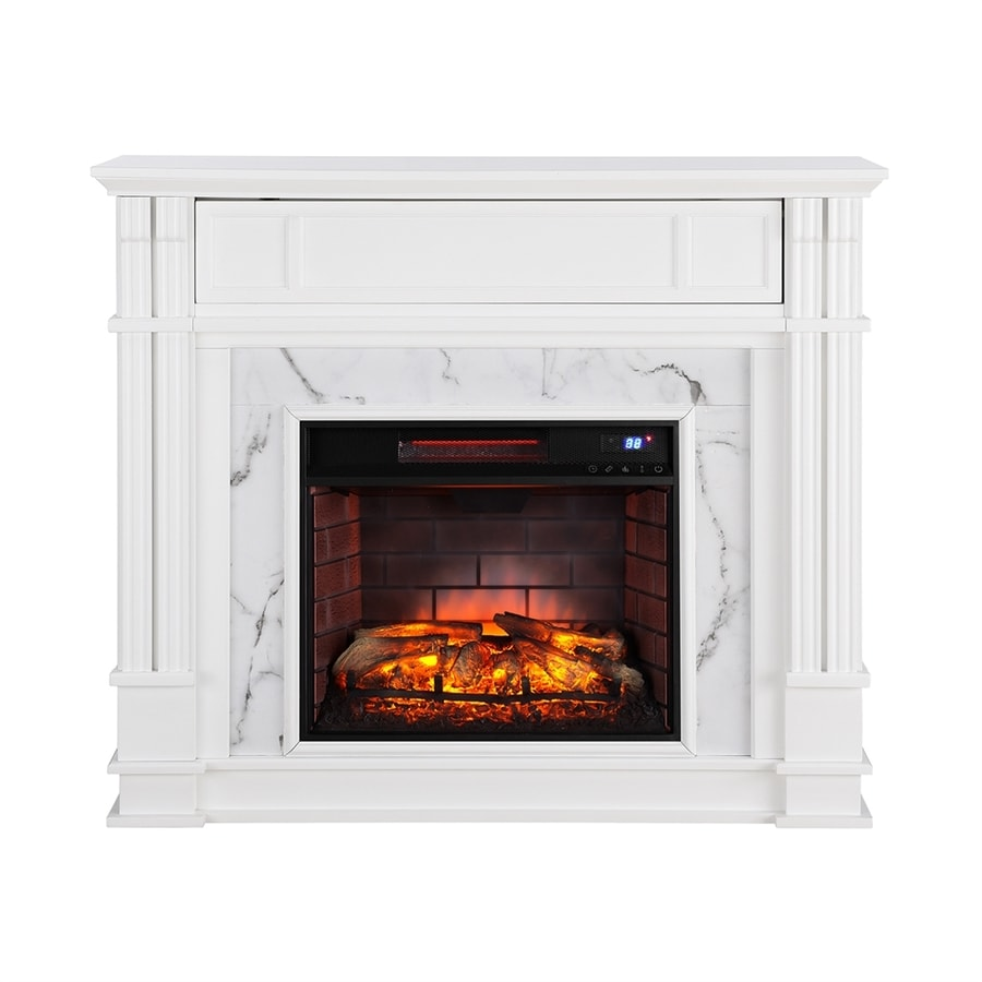 Boston Loft Furnishings 48 In W White Infrared Quartz