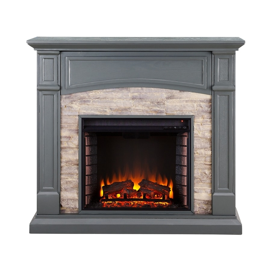 Boston Loft Furnishings 45 75 In W 5000 Btu Cool Slate Gray Mdf Flat Wall