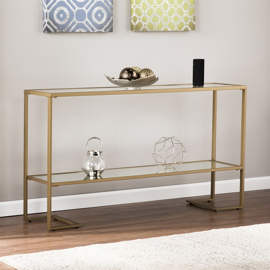 Boston Loft Furnishings Hastry Clear Console Table