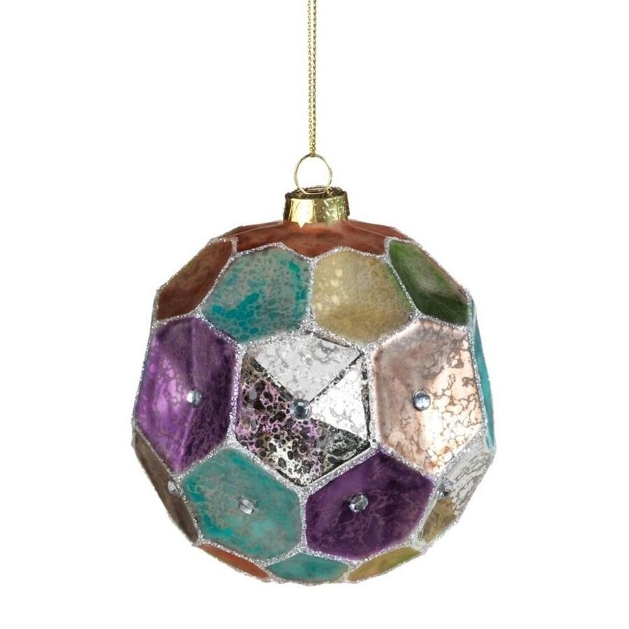 Zodax 6-Pack Multi-Colored Ball Ornament Set