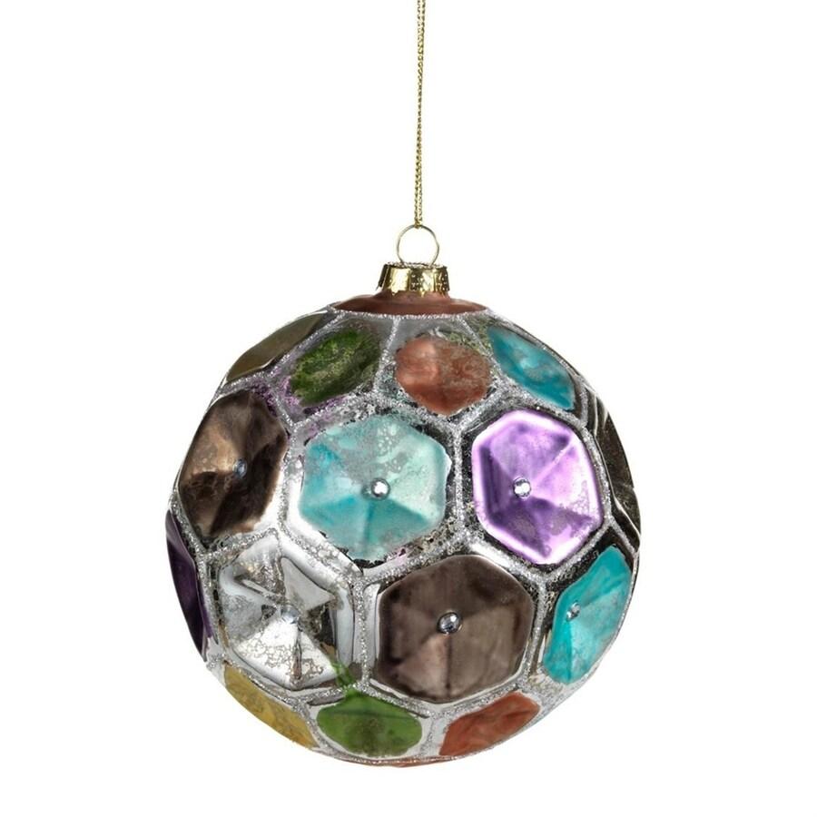 Zodax 4-Pack Multi-Colored Ball Ornament Set