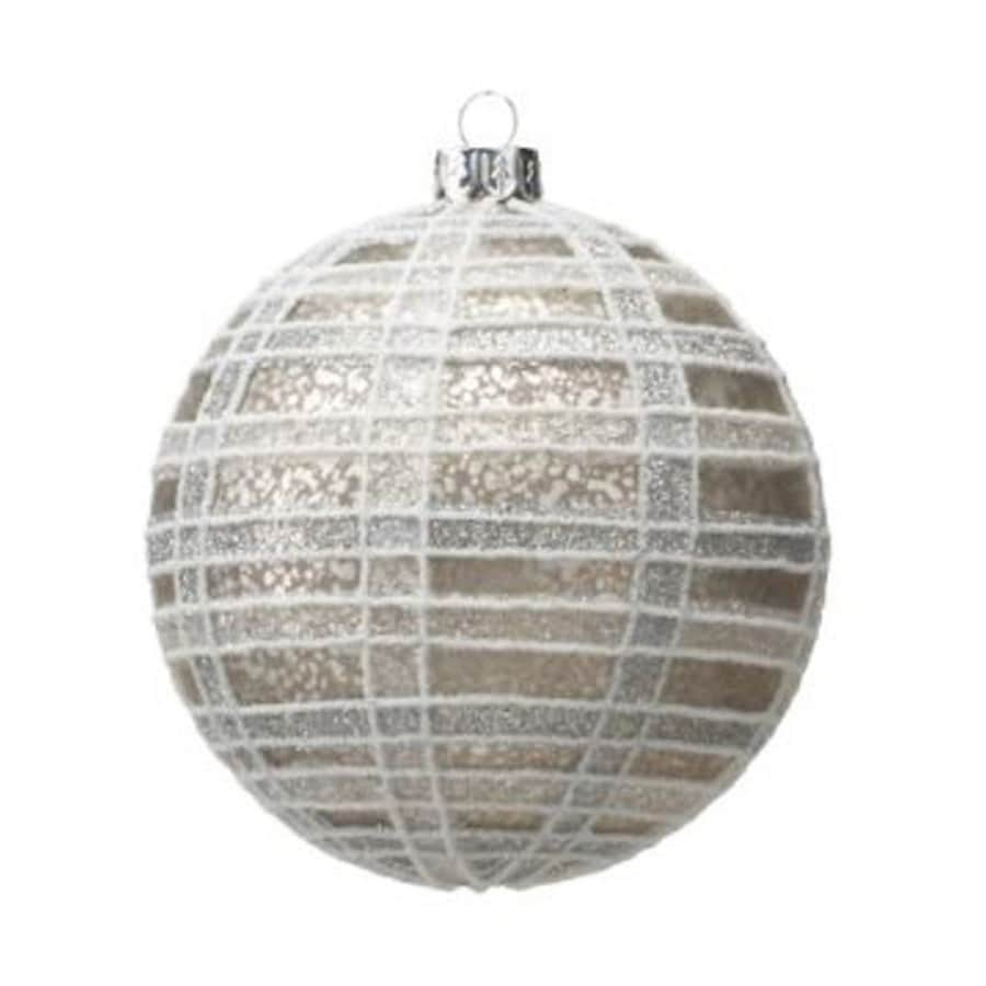Zodax 6-Pack Silver Ball Ornament Set