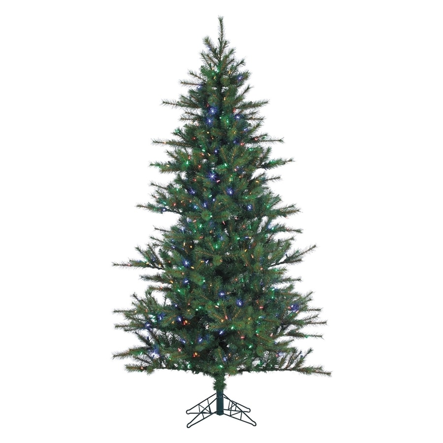 12 Ft Christmas Trees: Fraser Hill Farm 12-ft Pre-lit Southern Pine Artificial