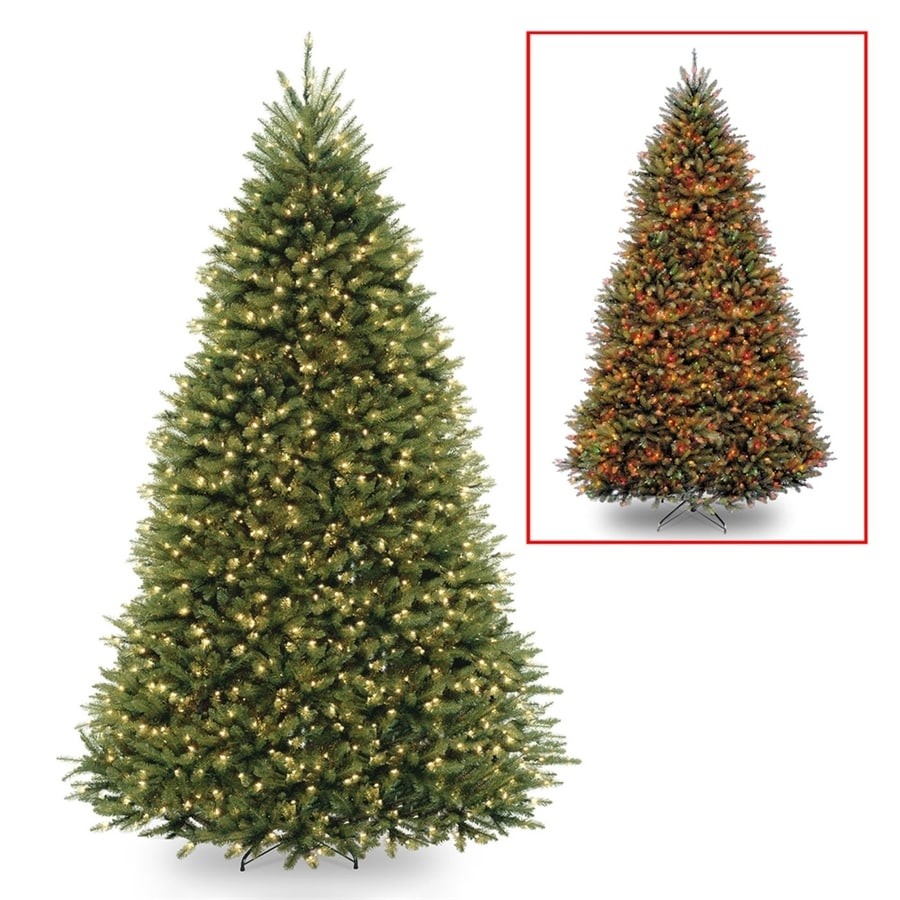 national tree company 10 ft pre lit full rightside up artificial christmas tree