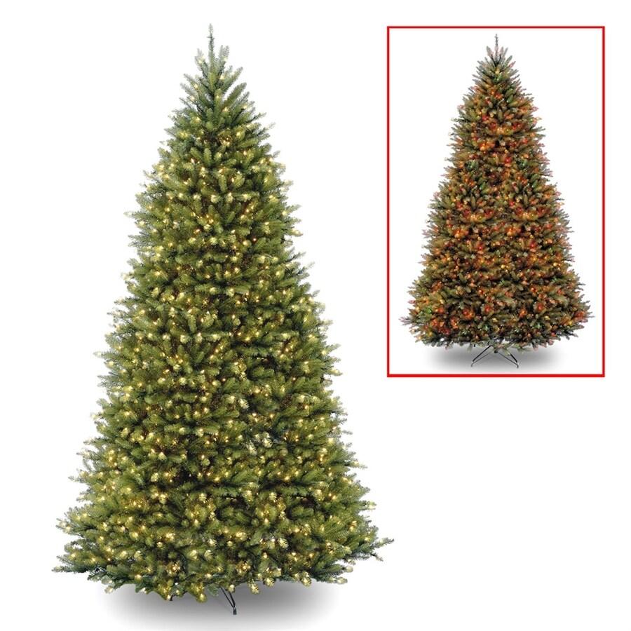 12 Ft Christmas Trees: National Tree Company 12-ft Pre-lit Artificial Christmas