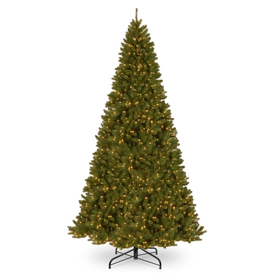 National Tree Company 12-ft Pre-lit Slim Artificial ...