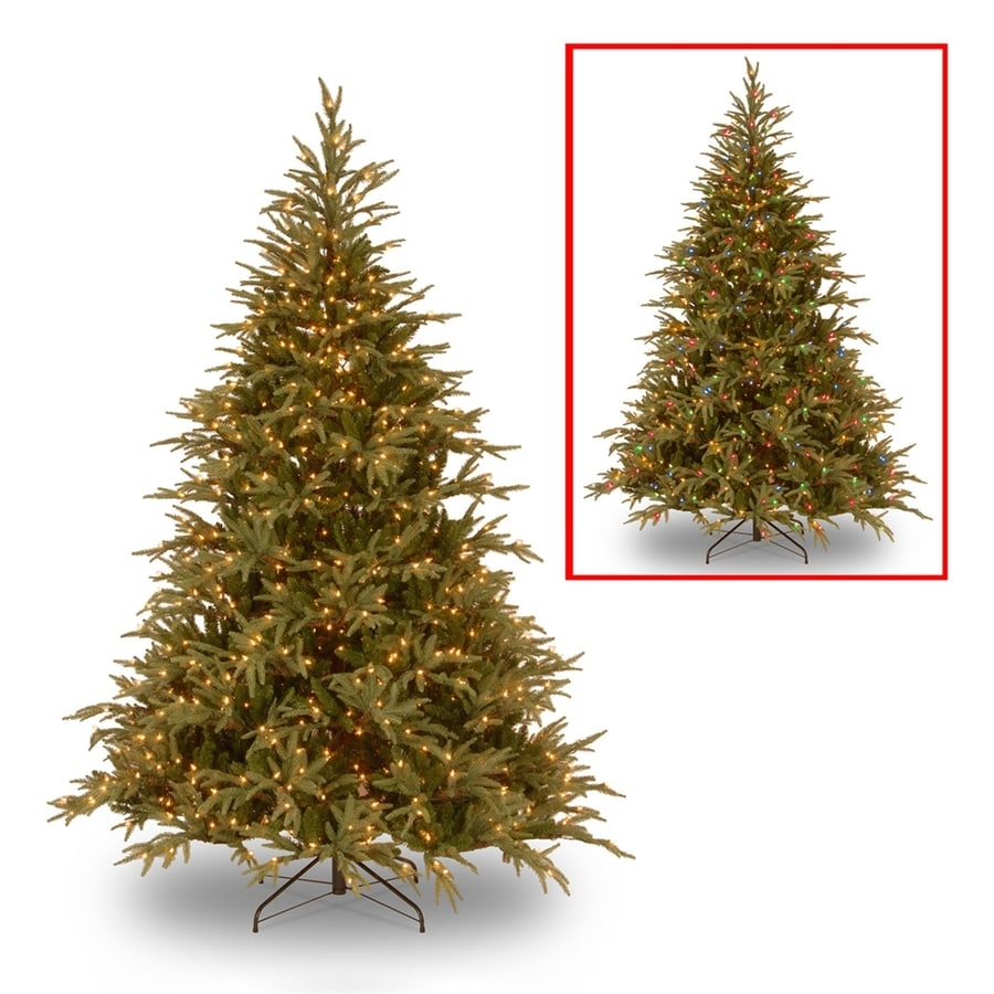 national tree company 9 ft pre lit frasier fir artificial christmas tree with 1500 - Fraser Fir Artificial Christmas Tree