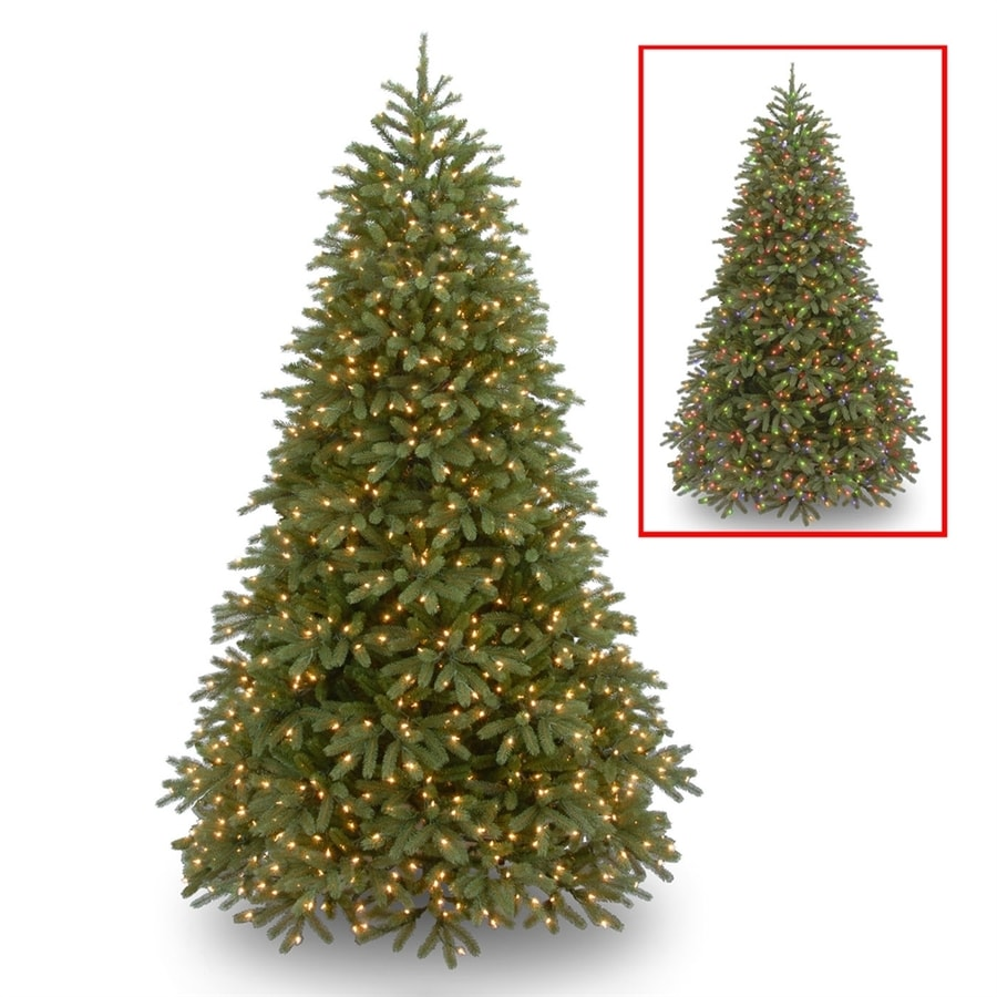 National Tree Company 9-ft Pre-lit Frasier Fir Artificial ...