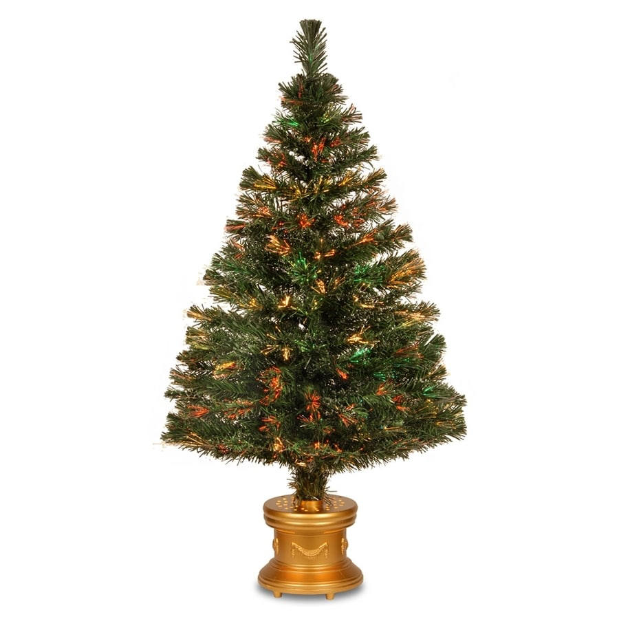 Shop National Tree Company 4 Ft Pre Lit Artificial